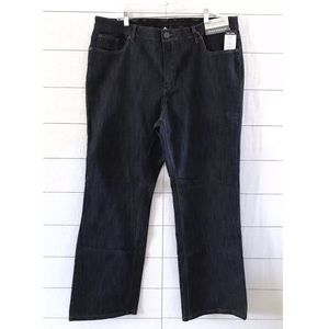 Merona Blue Denim Comfort Stretch Bootcut Jeans